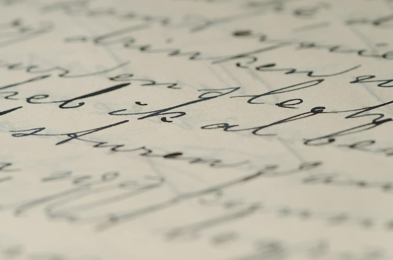 Comment retrouver une police d'écriture ?